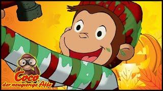 Coco der Neugierige Affe Deutsch 👻Der Pirat mit dem gelben Hut 🎃das Halloween 🐵Cartoons für Kinder