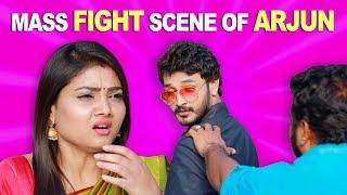 Mass Fight Scene of Arjun   ROJA   ரோஜா   Priyanka   SibbuSuryan   Saregama TVShows Tamil   Sun TV