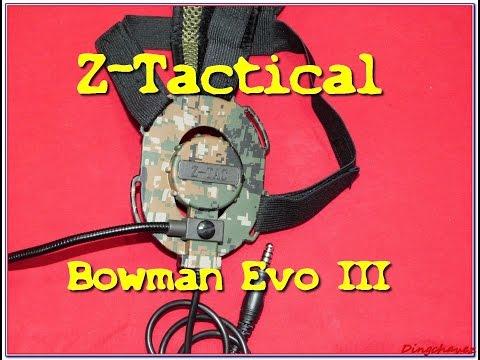 Gear - AirsoftPeak - Z-Tactical Bowman EVO III [ENG subs]