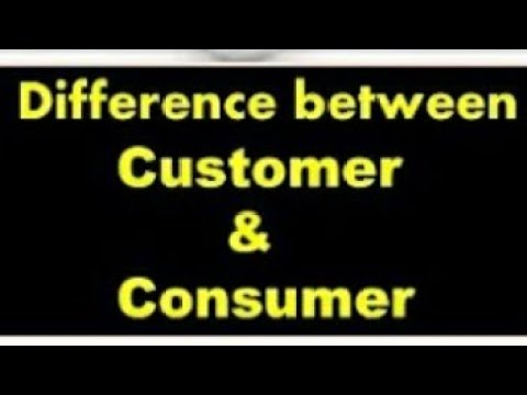 Customer & Consumer Difference (In Hindi)