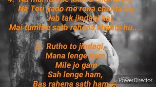 New WhatsApp status Best heart touching romantic sayari images songs Hindi HD