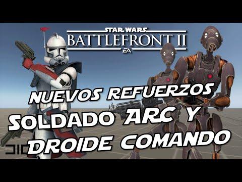 Star Wars Battlefront 2 Droides Comando y Soldados ARC, Refuerzo Infiltrador, Nuevo Modo de Juego thumbnail