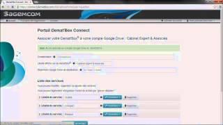 Tutoriel 2 -- Ajout d'un service Cloud sur Demat'Box® Connect
