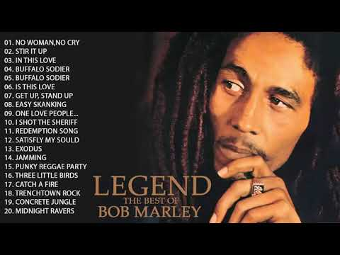 Bob Marley Greatest Hits Full Album   Bob Marley Legend Songs Mp3