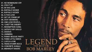 Bob Marley Greatest Hits Full Album   Bob Marley Legend Songs
