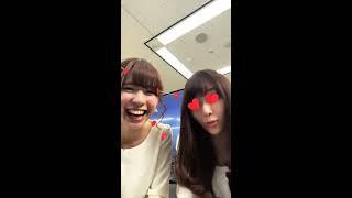 2018.04.16ウェザーニュースLiVEインスタ 鈴木里奈