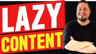 Get Traffic With Lazy Content Curation