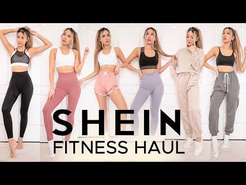 SHEIN HAUL | bras, workout wear, Try-on Haul