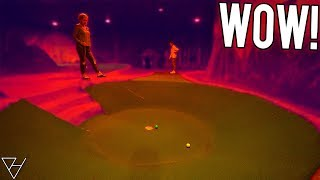 I Can't Believe We Have To Do THIS! - Epic Mini Golf Hole In One!