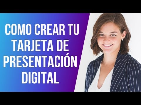 Cómo Crear la Tarjeta de Presentación Digital para Tu Negocio