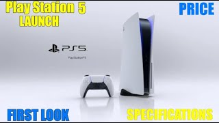 Play Station 5 Lanch || Specifications || Price || First Look