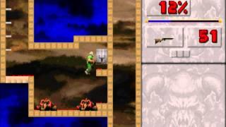 """Zagrajmy w """"Doom 2D Classic"""" 06: Pod wodą."""