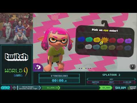 Splatoon 2 by TonesBalones in 1:40:06 - AGDQ 2018 - Part 4
