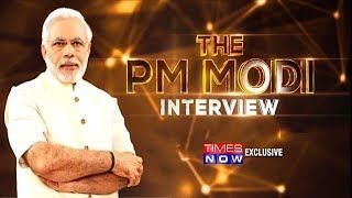 PM Narendra Modi's exclusive interview with Times Now   The PM Modi Interview