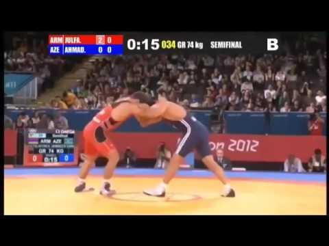 Арсен Джулфалакян  (Армения) VS Эмин Ахмадов  (Азербайджан)  МАСТЕР КЛАСС !!!