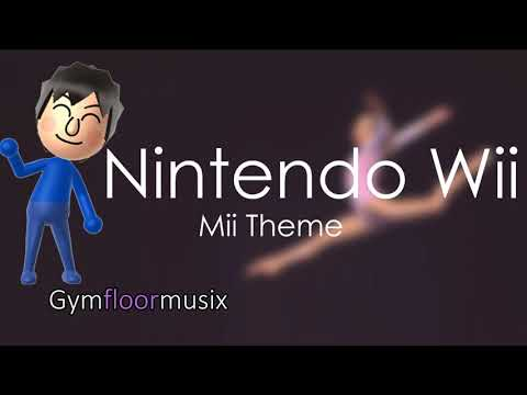 Nintendo Wii Mii Theme  Gymnastic floor music