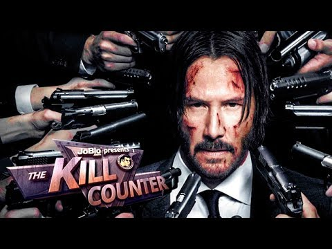JOHN WICK 2 - The Kill Counter (2017)