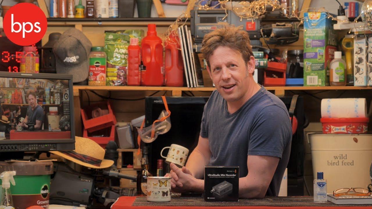 Blackmagic Design Ultrastudio Mini Recorder Bps Shed Review Youtube