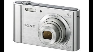 Sony W800 Digital Camera Review&Unboxing