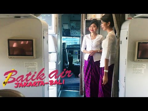 BATIK AIR Flight Vlog | ID6500 Jakarta to Bali on Economy Class | Shot with DJI OSMO MOBILE