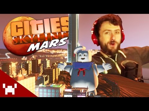 THE RIVAL CITY EXPANSION! (Cities Skylines: Mars #5)