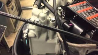 Дистанционное управление на лодочном моторе 3