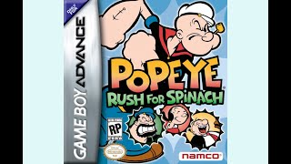 The Town [Popeye: Rush for Spinach]