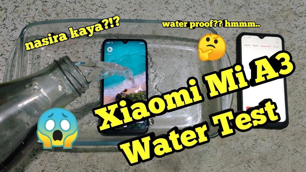 Xiaomi A3 Test