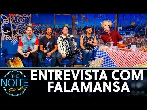 Entrevista com Falamansa  The Noite 240619