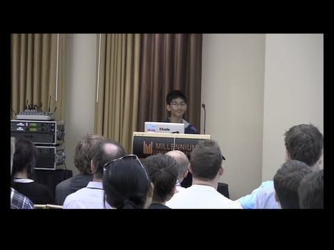 Scala Days 2013 talk: Fun programming in Scala: Games, Algorithms, and Apps