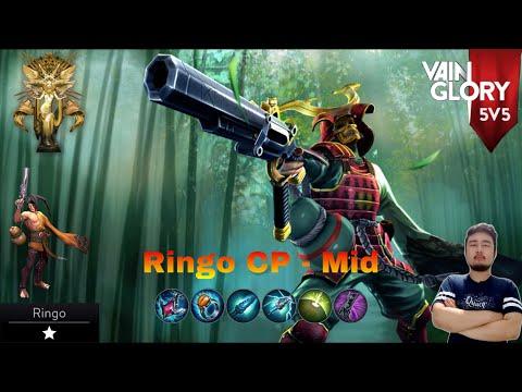 Vainglory 5v5 - |SA| - Ringo CP Mid- Patch 4.5 #20
