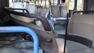 Mercedes-Benz 0405G #10751 bus ride from Israel HD