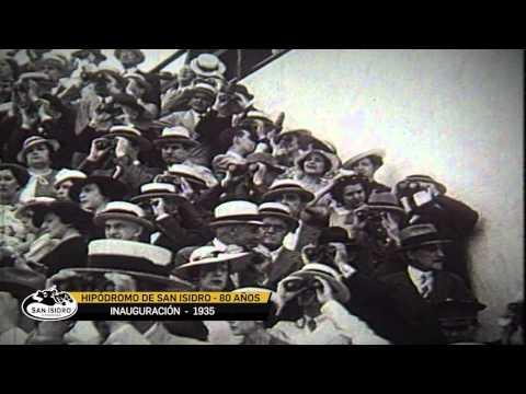 VIDEO 80 AÑOS. Inauguración del Hipódromo de San Isidro