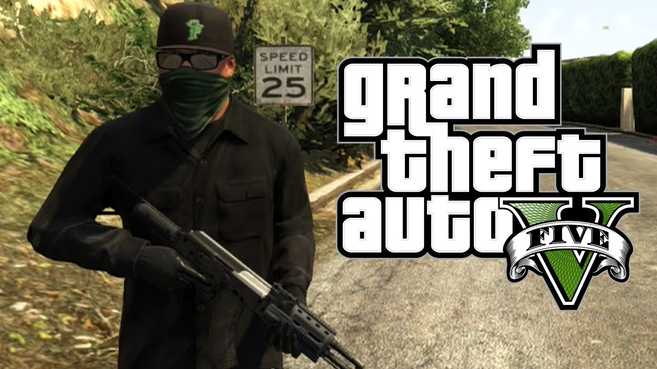 Gta 5 Franklin Goon Outfit Awesome Clothing Exploit