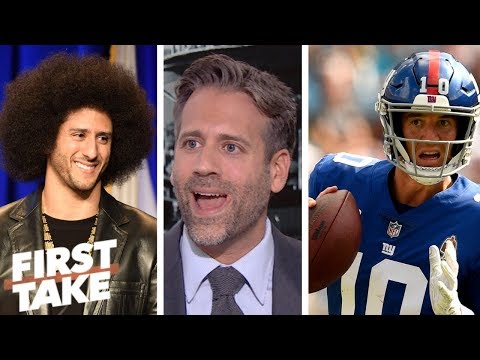 \'Giants need to sign Colin Kaepernick right now\' - Max Kellerman | First Take