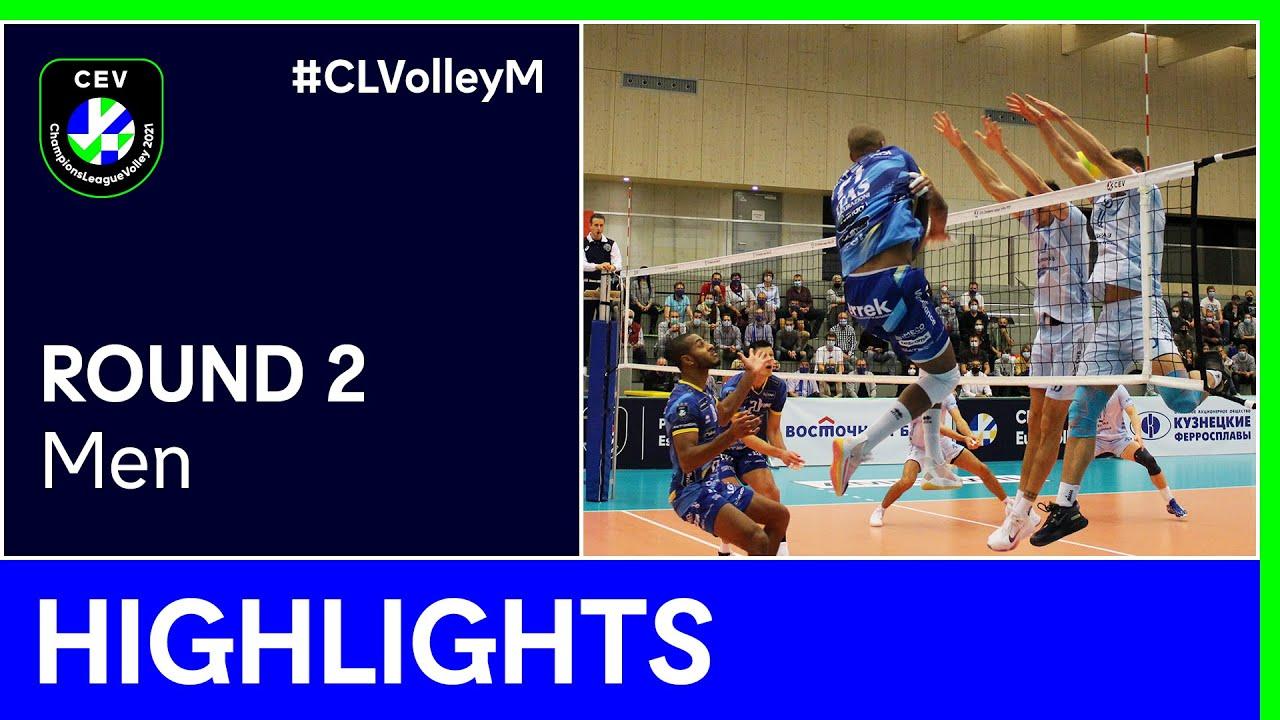 Dinamo MOSCOW vs. TRENTINO Itas Highlights - #CLVolleyM