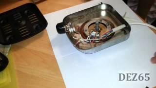 Ремонт плитки ALA 2000. Замена шнура и вилки питания.(, 2013-11-19T20:14:28.000Z)