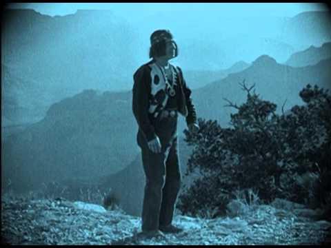 Random Movie Pick - A Modern Musketeer (1917) Grand Canyon scene YouTube Trailer
