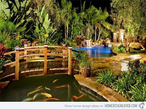 Japanese Garden Design Backyards Outdoor