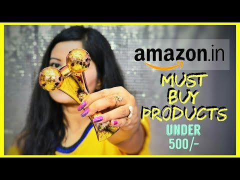 Amazon Finds India | Part 1 | Face Massager, Facial Steamer, Anti Hairfall Lotion & More…