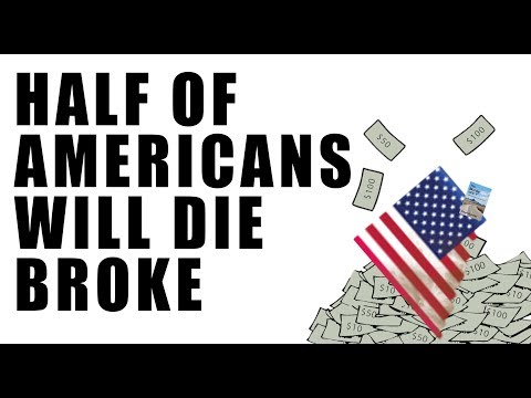HALF of Americans Die Broke! Pension Funds are GONE!