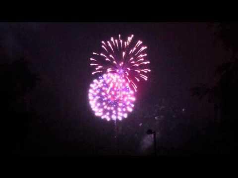 July 4 Fireworks from Glenside, PA