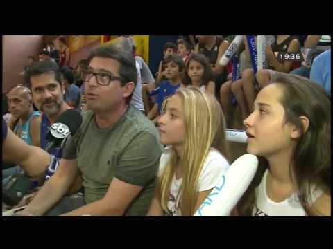 Jogo de basquete ganha festa temática para animar torcedores