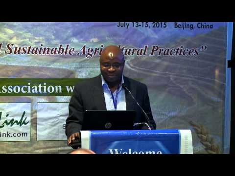 Fhatuwani Mudau N | South Africa  |  Agriculture & Horticulture 2015 | Conferenceseries LLC