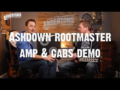 All About The Bass - New for 2016 - Ashdown Rootmaster Amp & Cabs