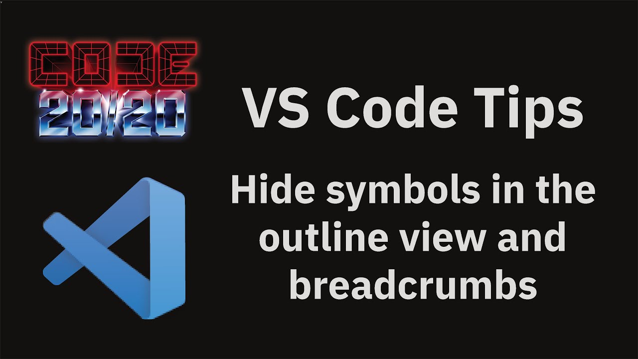 Hide symbols in the outline view and breadcrumbs