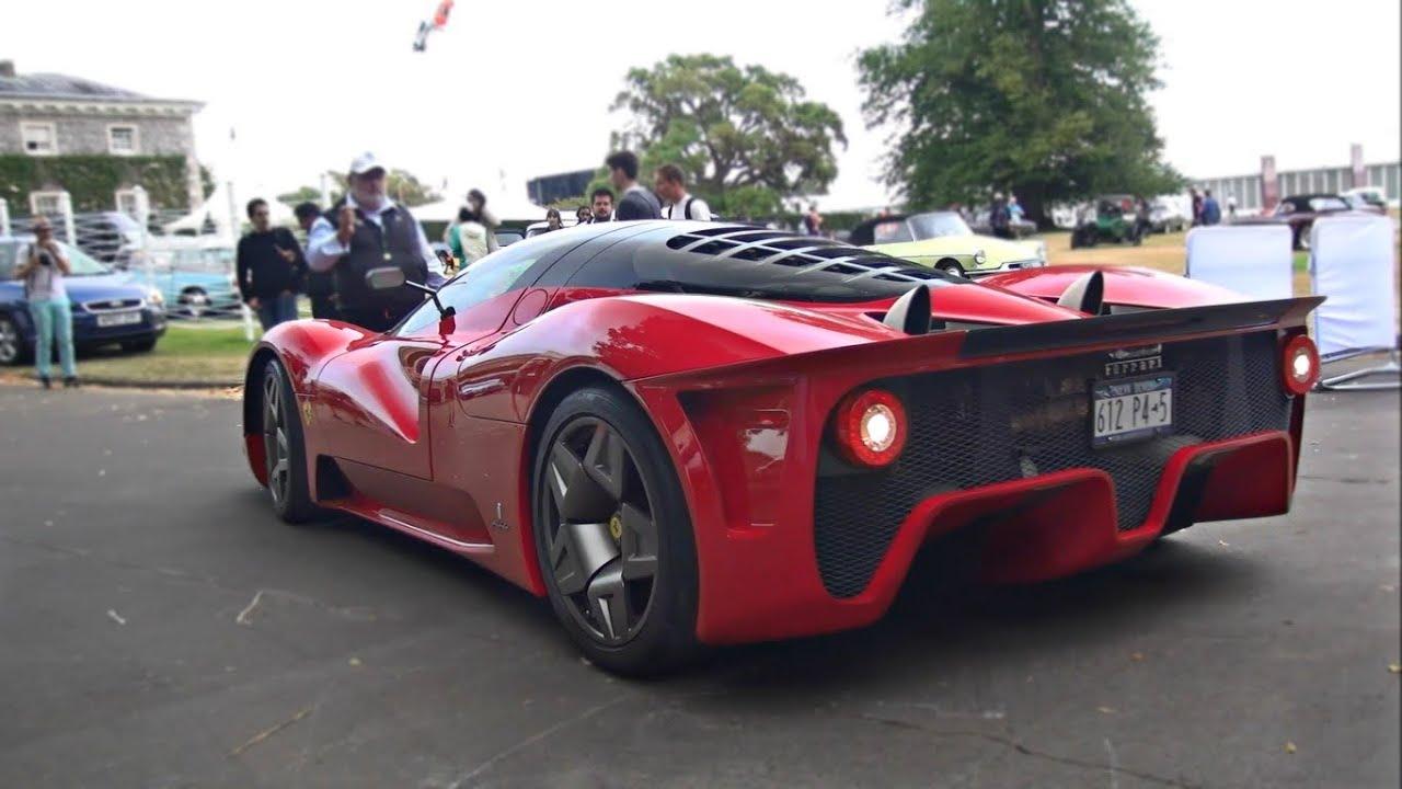 1of1 Ferrari P45 By Pininfarina Worth 4m Start Up And Loud V12 Revs