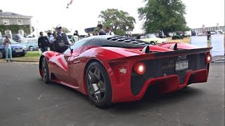 1of1 Ferrari P4/5 by Pininfarina worth $4m- Start up and Loud V12 Revs