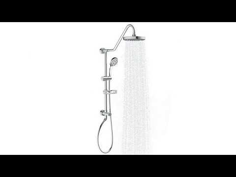 PULSE ShowerSpas 1011-CH Kauai III Retro-Fit Shower System