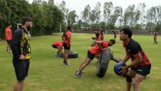 U Mumba team hard Practice For PkL 2018 Season 6 || Full Team Hard Practice